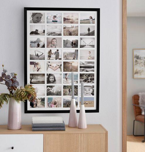 OTTO products Bilderrahmen Collage »Timmi, weiß«, für 32 Bilder (1 Stück), Bildformat 10x15 cm