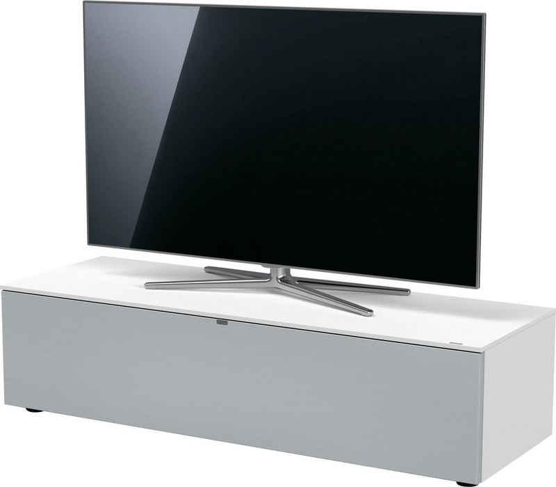 SPECTRAL TV-Board »Next«, mit Stofffront und Soundbar-Ablage, wahlweise mit TV-Halterung und LED-Beleuchtung, in verschiedenen Breiten und Farben