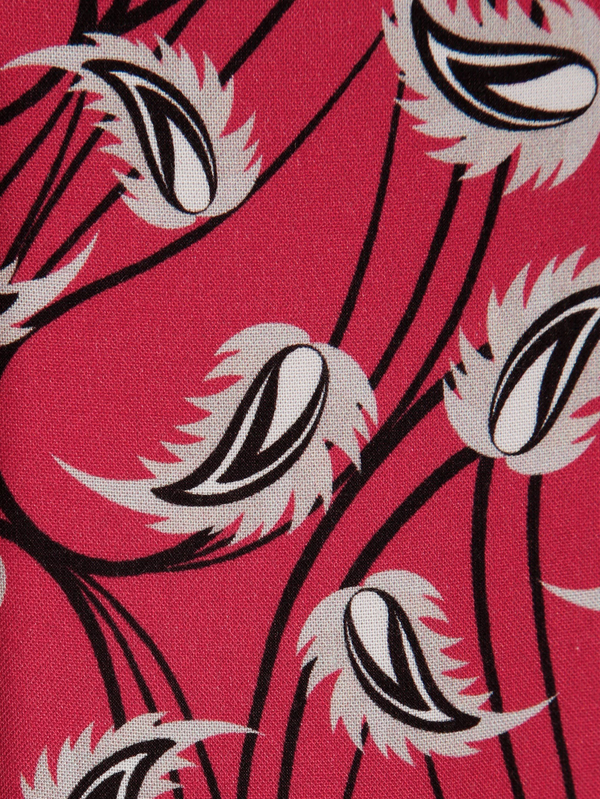 Mona Bluse in floralem Druckdessin, Hautfreundliche Naturfaser