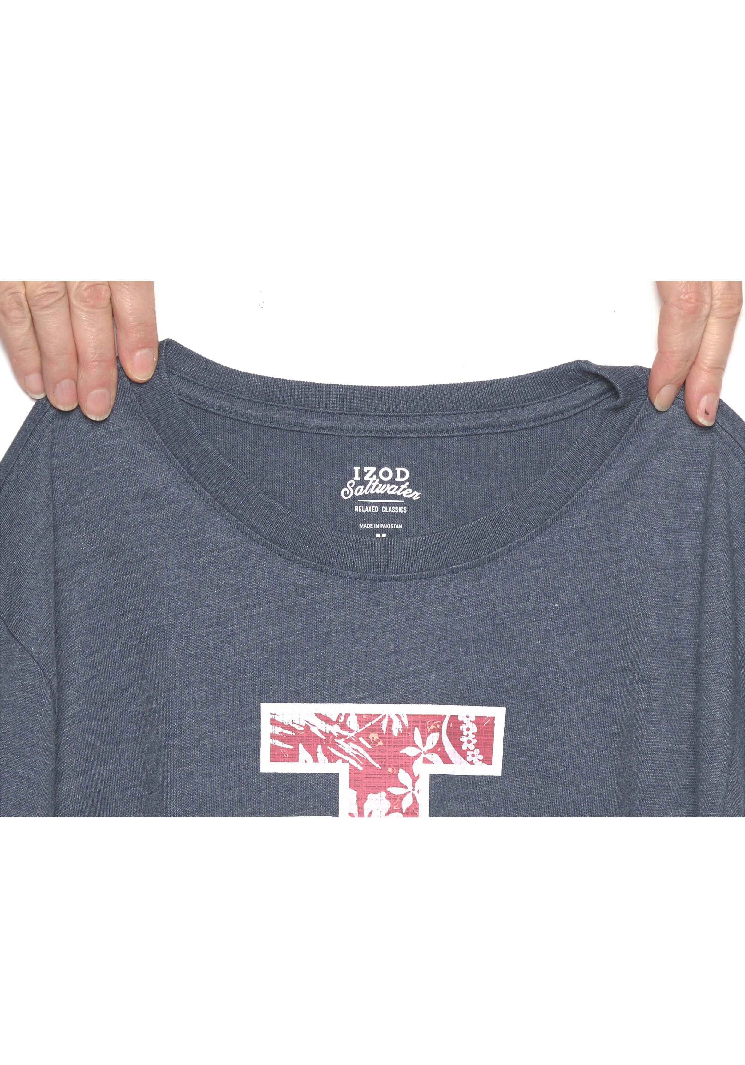 IZOD Kurzarmshirt mit großem Frontprint kaufen