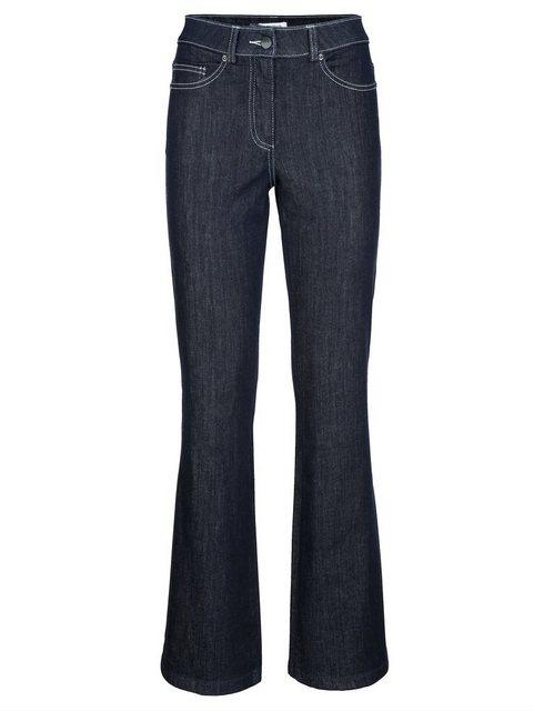 Hosen - Alba Moda Bootcut Jeans in zwei Längen › blau  - Onlineshop OTTO