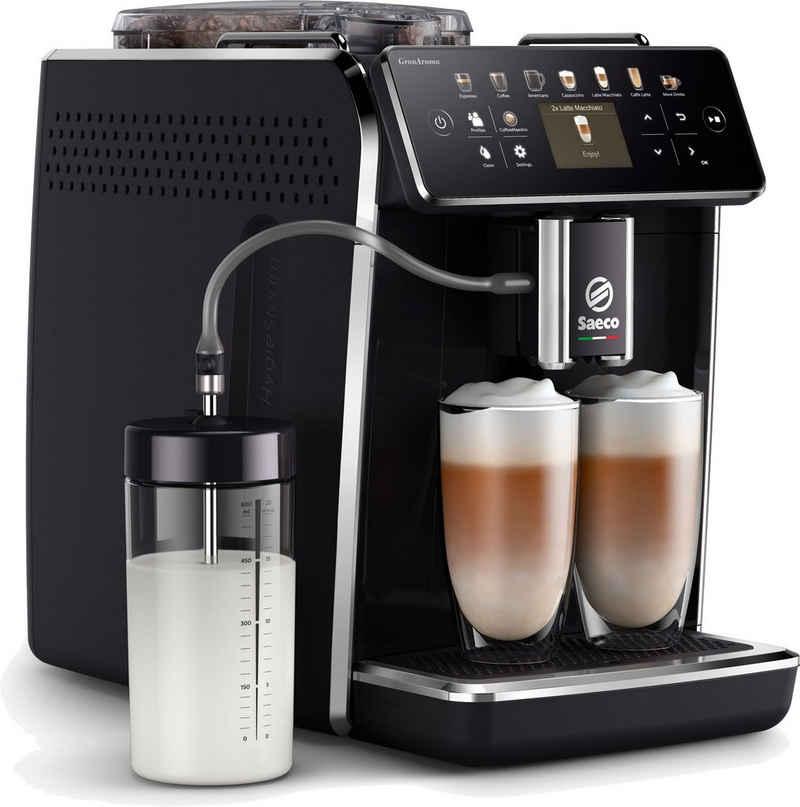 Saeco Kaffeevollautomat GranAroma SM6580/00, individuelle Personalisierung mit CoffeeMaestro, 14 Kaffeespezialitäten