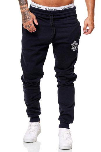 OneRedox Jogginghose »3676C« (Sporthose Trainingshose Sweatpants, 1-tlg., im modischem Design) Fitness Freizeit Casual