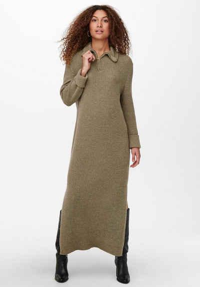 Only Strickkleid »ONLTIA LIFE L/S HIGHNECK DRESS« mit Wolle