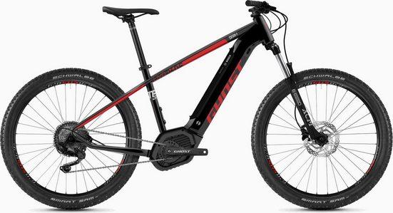 Ghost E-Bike »Hybride Teru PT B3.7+ AL U«, 10 Gang Shimano Deore RD-M6000 Shadow Plus 10-S Schaltwerk, Kettenschaltung, 250 W
