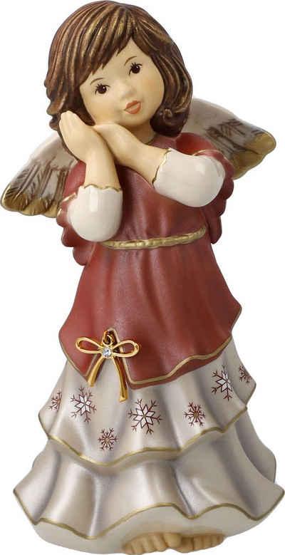 Goebel Engelfigur »Jahresengel 2021 - Friedliche Weihnachtszeit« (1 Stück), mit Zertifikat und Swarovski®-Kristal
