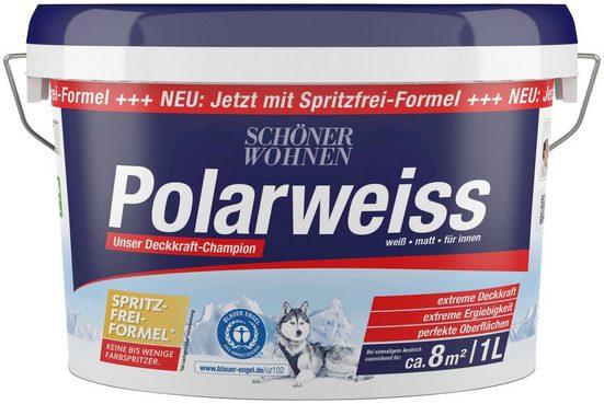 SCHÖNER WOHNEN-Kollektion Wand- und Deckenfarbe »Polarweiss«