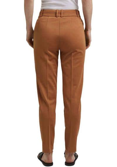 Esprit Collection Jerseyhose mit Umschlagsaum
