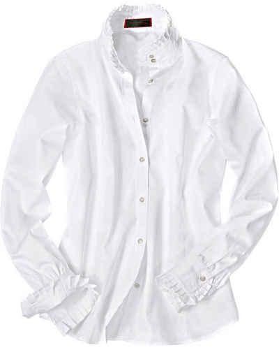 Reitmayer Trachtenbluse »Bluse mit Rüschenkragen«