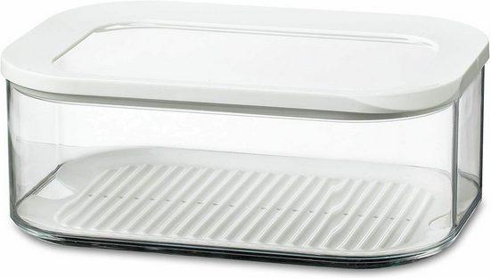 Mepal Vorratsdose »Kühlschrankdose Modula Käsedose 2000 ml«, Kunststoff, Weiß, 22.4 x 16 x 8.6 cm Frischhaltedose