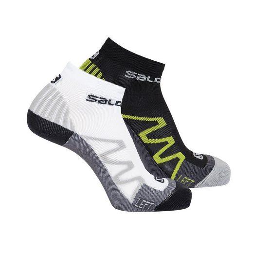 Salomon Sportsocken »2 PAAR Lauf-Socken Unisex, XT HAWK - Ankle«