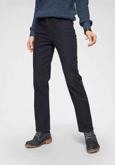 H.I.S Straight-Jeans »High-Waist« Nachhaltige, wassersparende Produktion durch OZON WASH