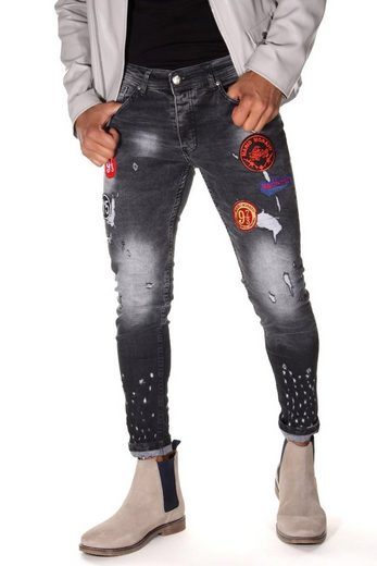 Bright Jeans Ankle-Jeans