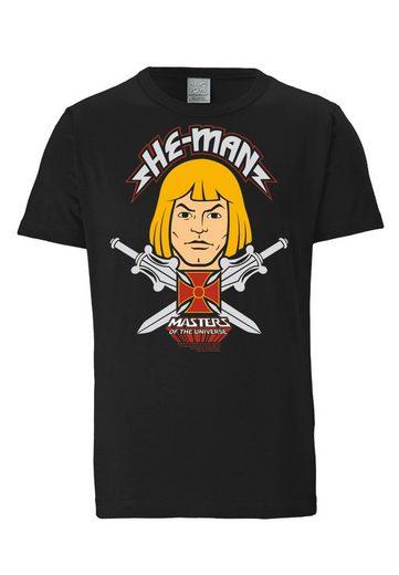 LOGOSHIRT T-Shirt mit großem Frontprint »He-Man - Face«