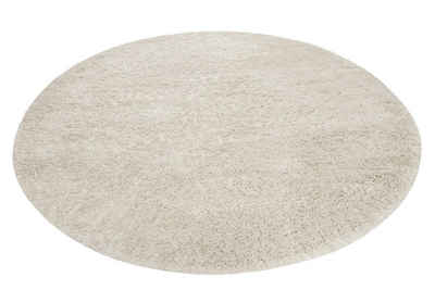 Hochflor-Teppich »Live Nature«, Esprit, rund, Höhe 55 mm, weiche Haptik, Wohnzimmer