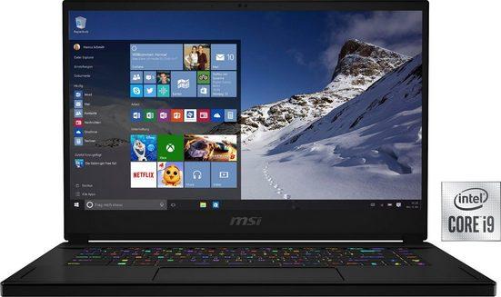MSI GS66 Stealth 10UH-274 Gaming-Notebook (39,6 cm/15,6 Zoll, Intel Core i9, GeForce RTX™ 3050 Ti, 2000 GB SSD, Kostenloses Upgrade auf Windows 11, sobald verfügbar)