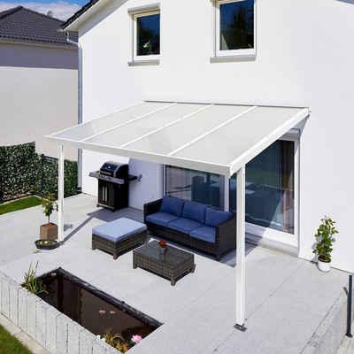 GUTTA Terrassendach »Premium«, BxT: 410x306 cm, Dach Acryl Klima blue