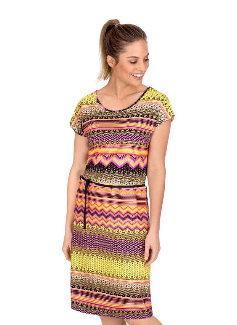 Trigema Jerseykleid mit tollem Muster