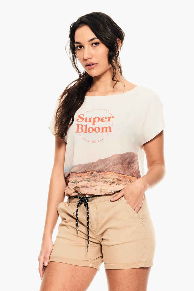 Garcia T-Shirt »D10007 - 53-off white« mit Fotoprint