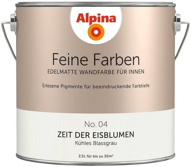 Alpina Feine Farben Zeit der Eisblumen, grau