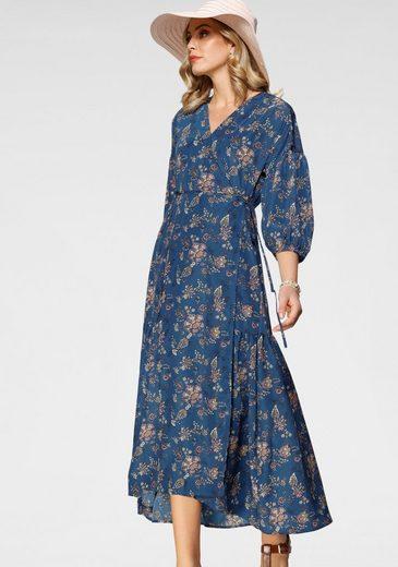 Levi's® Blusenkleid »LS Blair Wrap« mit Puffärmel