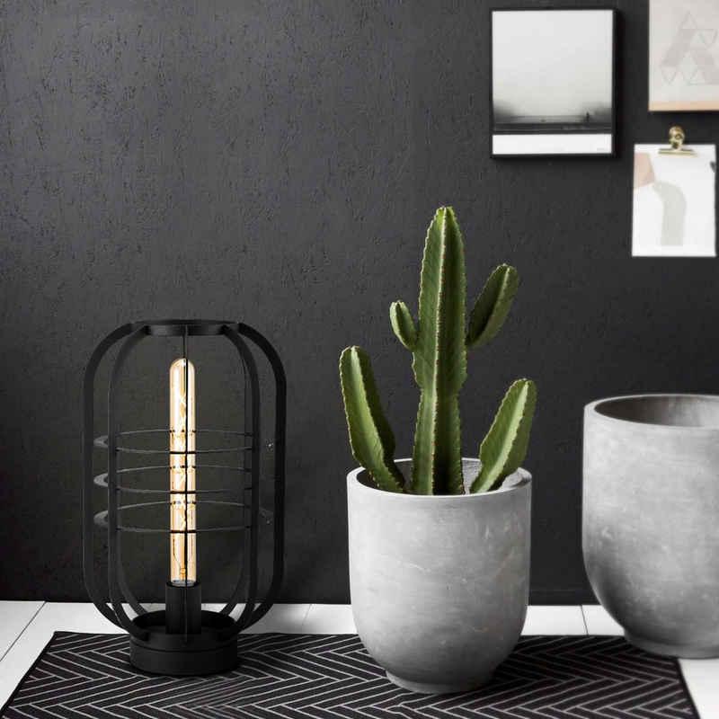 home sweet home Tischleuchte »Tischlampe / Bodenlampe für LED Filament Stableuchte - schwarz - E27 - 40cm«