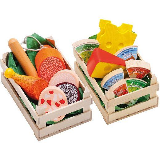 Erzi® Spiellebensmittel »Exklusiv Set Sortimente Wurstwaren + Käse«