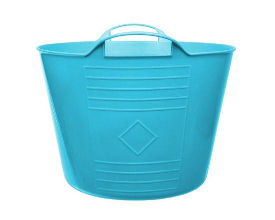 ONDIS24 Wäschekorb »Flexi Tub Tragekorb, 34cm Ø x 27 (H) cm, Gartenkorb, Wäschekorb, Spielzeugeimer, Flexible und praktisch,15 Liter«