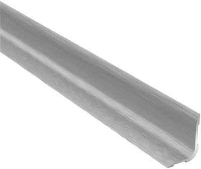 Arbiton Winkelprofil »PRO L Optik Edelstahl« (1-St), matt, 15 mm x 20 mm x 93 cm für Klebemontage