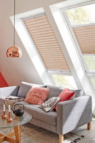 Dachfensterplissee »StartUp Style Crepe«, sunlines, Lichtschutz, verspannt, mit Führungsschienen