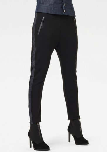 G-Star RAW Sweatpants »Fabric Mix Tapered Jogginghose« mit elastischen Bund und Kordelzug mit Stopper