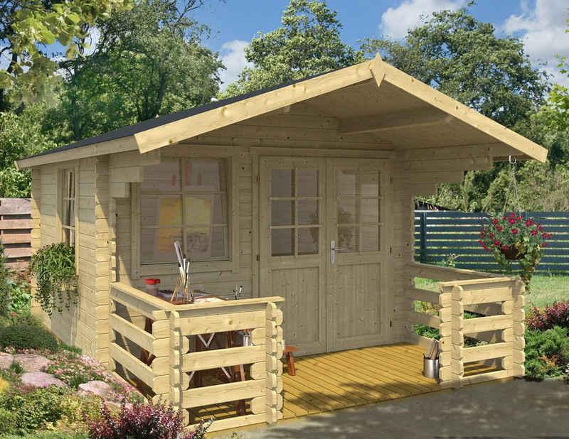 Outdoor Life Products Gartenhaus »Klingenberg 1«, BxT: 340x460 cm, (Set)