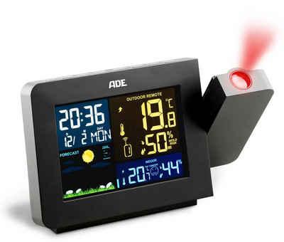 ADE »WS1911« Wetterstation (Wetterstation mit Projektion und Funk-Außensensor)