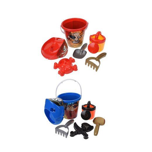 HTI-Living Sandform-Set »Sandspielzeug 6 tlg. Piraten«
