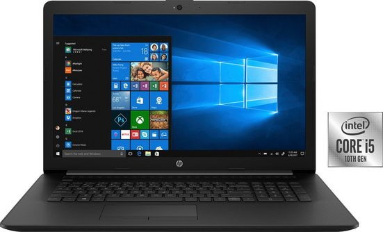 HP 17-by2236ng Notebook (43,9 cm/17,3 Zoll, Intel Core i5, UHD Graphics, - GB HDD, 512 GB SSD, inkl. Office-Anwendersoftware Microsoft 365 Single im Wert von 69 Euro)
