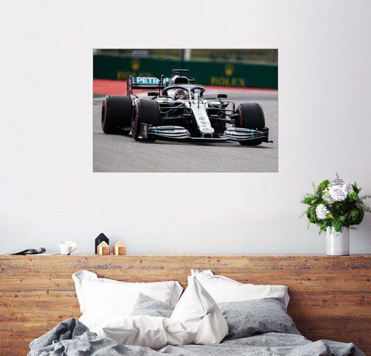 Posterlounge Wandbild, Lewis Hamilton, Sochi, Großer Preis von Russland 2019