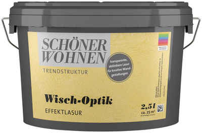 SCHÖNER WOHNEN-Kollektion Wohnraumlasur »Wisch-Optik Effektlasur«, 2,5 l, abtönbar