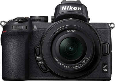 Nikon »Z50 + DX 16-50mm f3,5-6,3 VR« Systemkamera