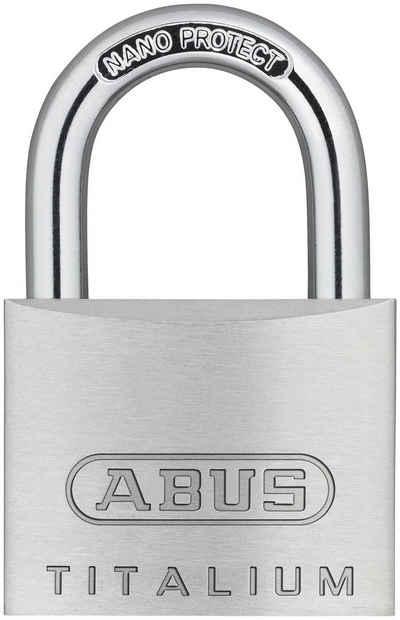 ABUS Vorhängeschloss »64TI/40«, Spezialaluminium und Stahlbügel