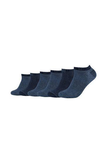 MUSTANG Socken (6-Paar) mit weichem Komfortbund