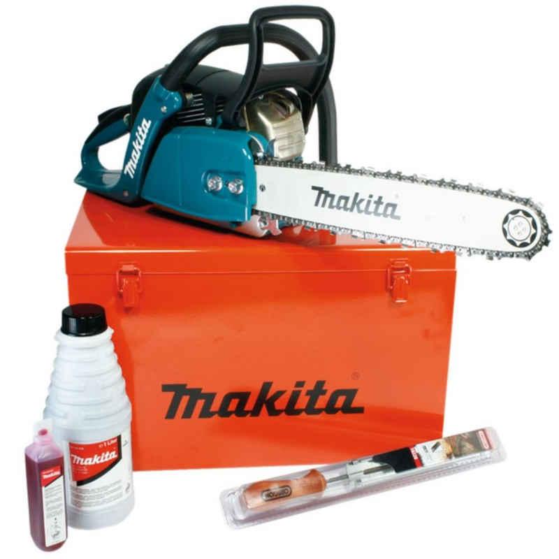 Makita Benzin-Kettensäge »38 cm Benzin-Kettensäge EA4300F38X + Zubehör im Ko«