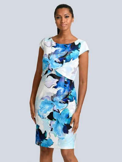 Alba Moda Kleid in floralem Print