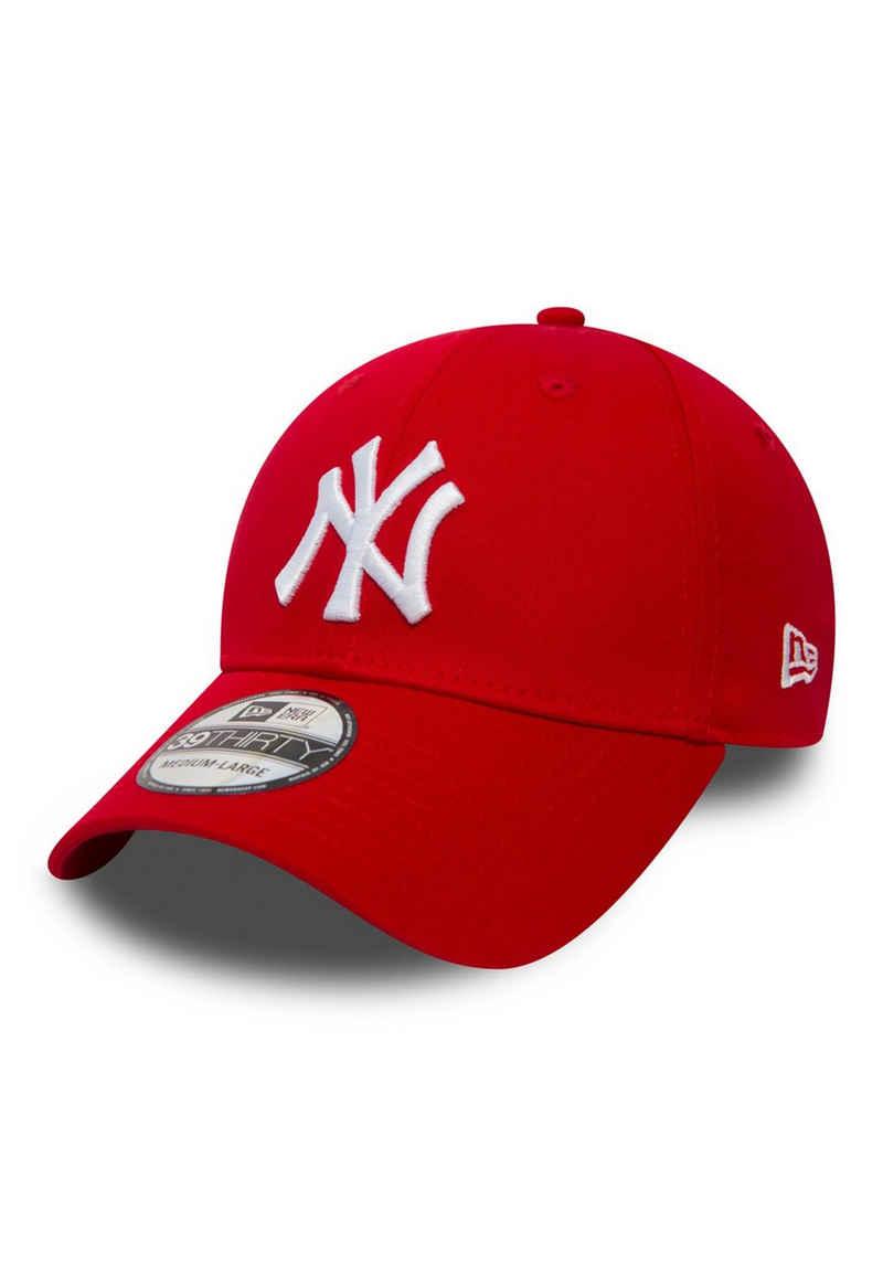New Era Baseball Cap »New Era 39Thirty League Cap - NY YANKEES - Scarlet-White«