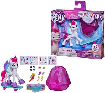 Hasbro Spielfigur »My Little Pony, A New Generation - Kristall-Abenteuer Zipp Storm«, mit Kristallbehälter und Freundschaftsarmband