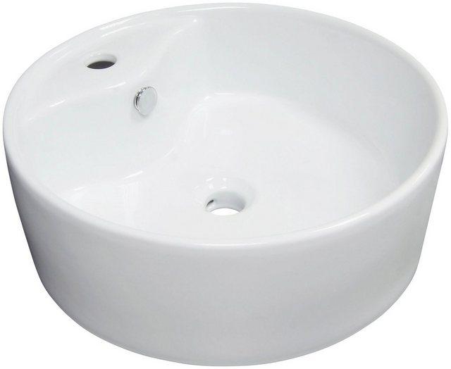 Aufsatz-Waschbecken Tomar, weiß