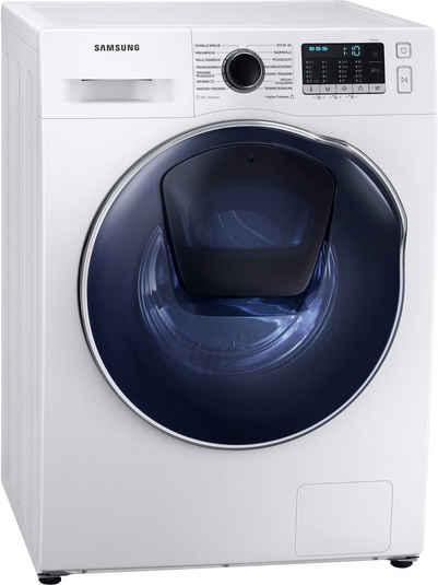 Samsung Waschtrockner WD8NK52K0ZW, 8 kg, 5 kg, 1400 U/min, SLIM Platzsparer