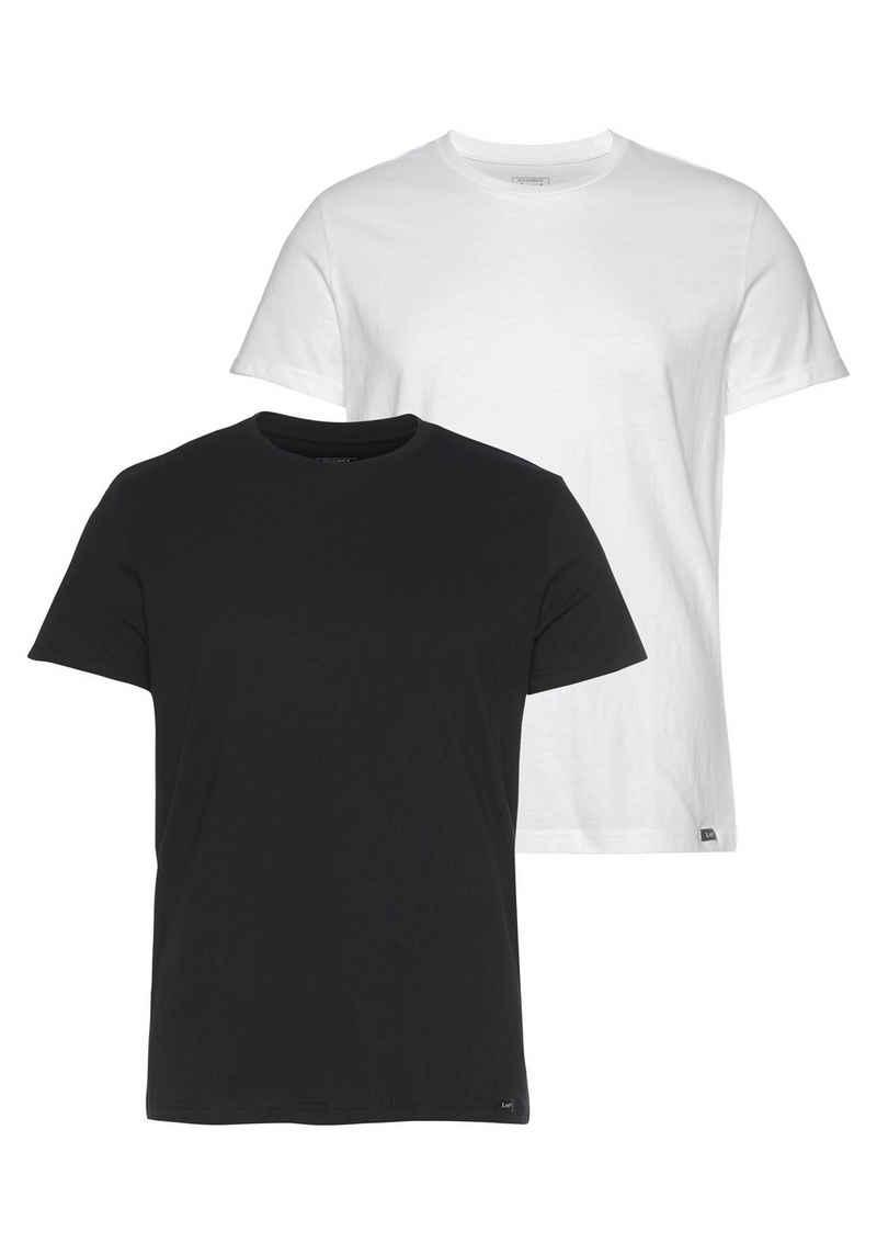 Lee® T-Shirt (Set, 2-tlg)