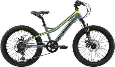 Bikestar Mountainbike, 7 Gang Shimano RDTY21 Schaltwerk, Kettenschaltung