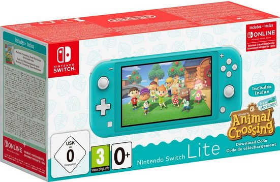 Product Image Nintendo Switch Lite (inkl. Animal Crossing und 3 Monate Switch Online Mitgliedschaft)