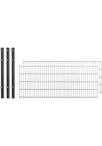 Arvotec Doppelstabmattenzaun 2 Stk. LxH: 4x08 ...